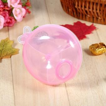 1Pcs Portable Milk Powder Formula Dispenser Containers Baby KidsToddler Box Case (Pink) - intl - 2