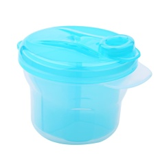 1Pcs Portable Milk Powder Formula Dispenser Containers Baby KidsToddler Feeding Box (Blue) - intl