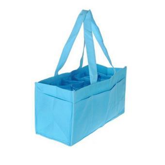 2017 practical pregnant woman handbag portable packet baby diapersdiaper change bag milk bottle locker inner container blue pink -intl - 4