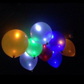20Pcs Glow In The Dark Sky Lanterns Led Flash Balloons IlluminatedLED Balloon Wedding&Birthday Decoration globos Party Baloons -intl - 4