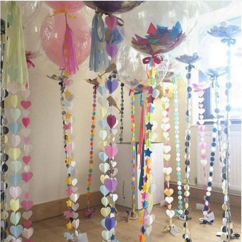 20PCs/Lot Creative 12 inch Colorful Confetti Helium Balloons Romantic Wedding Valentine's Festival Birthday Party Decoration Supplies - intl - 5