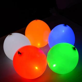 20Pcs/pack Glow In The Dark Lanterns Globos Party Baloons Led Flash Balloons Illuminated LED Balloon Wedding Birthday Decoration - intl - 4