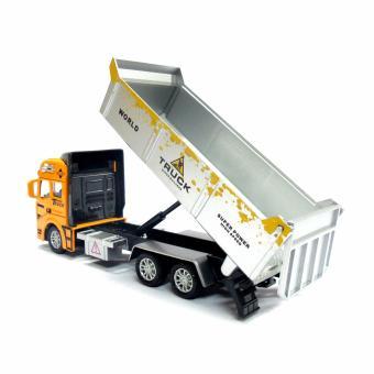 2211 Dump Truck Pull-Back Toy - 4
