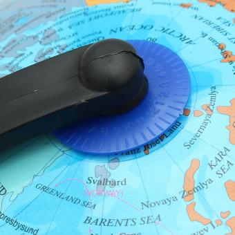 25cm Rotating World Earth Globe Atlas Map Geography Education Toy Desktop Decor - intl - 3
