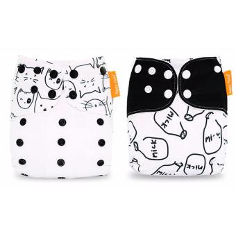 2x Premium Happy Flute Bamboo Nappy Cloth Diaper reusable washable Price Philippines