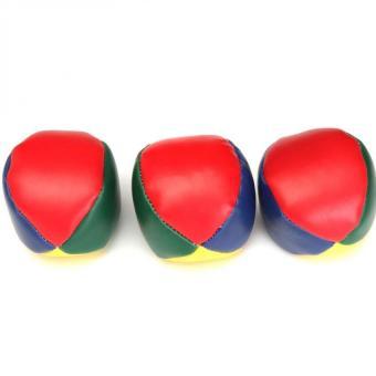 3 PCS Juggling Balls Set Classic Bean Bag Juggle Magic CircusBeginner Kids Toy Gift - Intl - 4