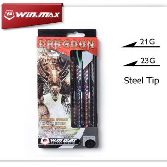 3 pcs Professional 21 Grams Tungsten Steel Tip Darts with NylonDart shafts and Dart flights Needle dart - intl - 3