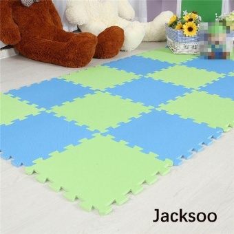 36 Pcs baby EVA Foam Play Puzzle Mat/ Interlocking Exercise TilesFloor Carpet Rug for Kid,Each 30cmX30cmx 0.8/1cmThick - intl