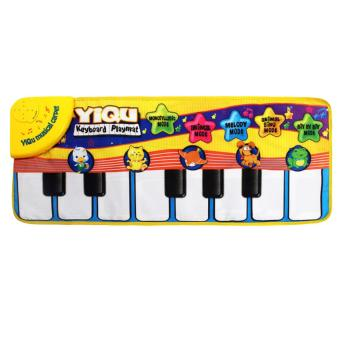360DSC YIQU YQ3003 Kids Piano Musical Touch Play Singing Crawl MatBaby Fun Animal Child Educational Toy