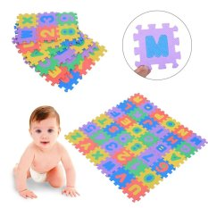 PHP 450. 36Pcs Soft EVA Foam Baby Playing Mat Numbers Letters Children Kids Playing Crawling Pad Toys - intlPHP450