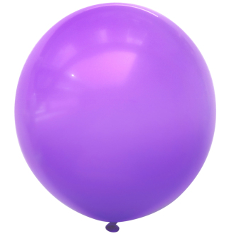 3pcs 36inch Large Giant Circular Latex Balloon Purple