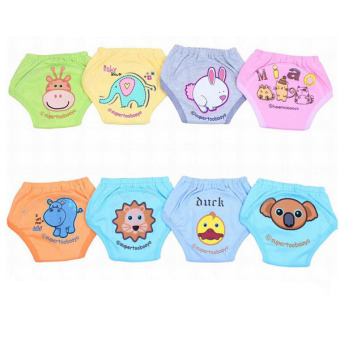 3pcs/lot Girls Training Pants Cloth Diapers Baby Panties ChildUnderwear Underpants - intl