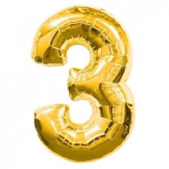 40inch Gold Helium Foil Number Balloon Birthday Wedding Party Decor Supplies