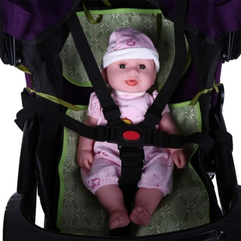5 Point Harness Adjustable Baby Stroller Safety Strap Pram Seat Belt - intl