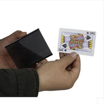 5Pcs Card sleeve Card Vanish Illusion Change Sleeve Close-Up StreetMagic Trick Choose Hidden Toy - intl