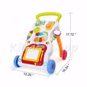 666-16 Baby push walker Music Educational Stand KIDS toy for baby(9-12 MONTHS) - 2
