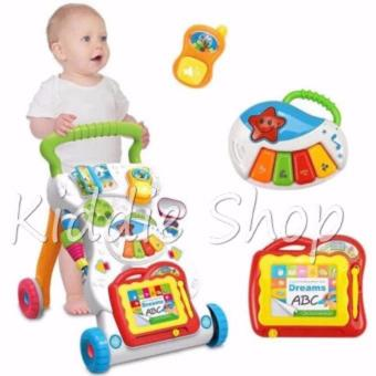 666-16 Baby push walker Music Educational Stand KIDS toy for baby(9-12 MONTHS) - 3
