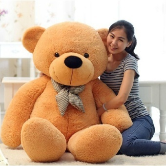 [80-120cm 3 Colors] Giant Large Size Teddy Bear Plush Toys Stuffed Toy Lowest Price Birthday gifts Christmas - intl