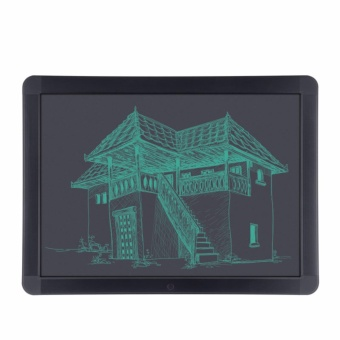 8.5 Inch LCD Writing Tablet Portable Drawing Board(black) with Free LED Watch - 3