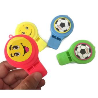 8Pcs/Lot Whistle Toys for Kids Party Favors Supplies Girl BoyBirthday Party Gift Plastic Assorted Color Whistle 45g - 3