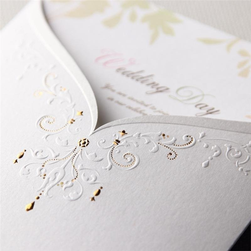 Philippines | A Set of Customized Wedding Invitation Cards Black and ...