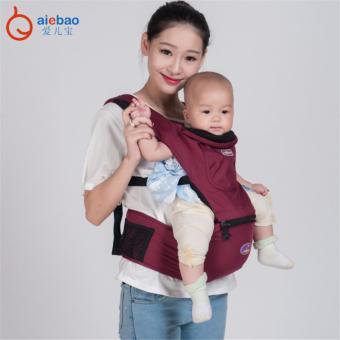 AIEBAO Baby Carrier Waist Belt Infant Hip Seat(Red) - intl - 3