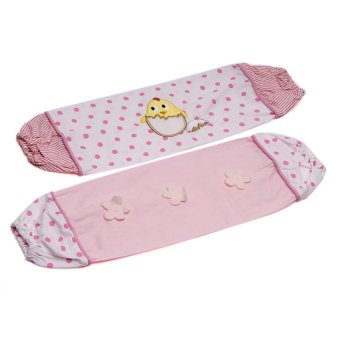 Akeeva AK-330 Bolster Case and Pillow Case 3-piece Set (Pink) - picture 2