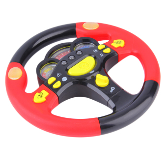Allwin Children's Steering Wheel Toy Baby Childhood Educational Driving Simulation - picture 2