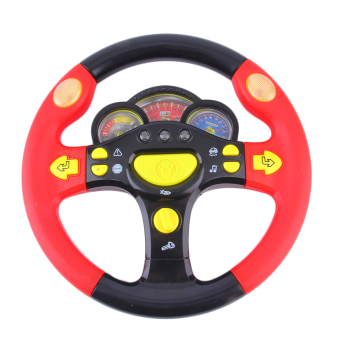 Allwin Children's Steering Wheel Toy Baby Childhood Educational Driving Simulation