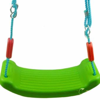 Angllewings children kids garden swings set PP rope Outdoor Fun& Sports toy swing for children backyard game toy - intl Price Philippines