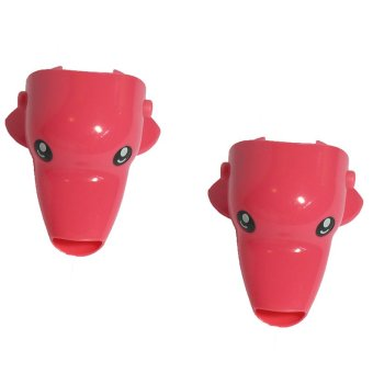 Animal Faucet Extender (Pink Dolphin) - 2 Pack