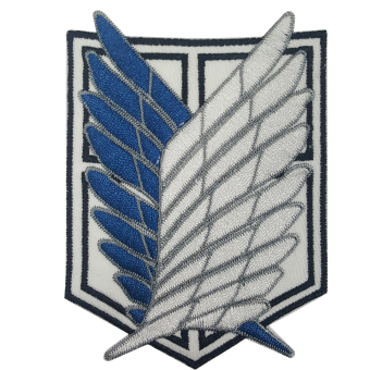 Anime Scouting Legion - Patch ( White )