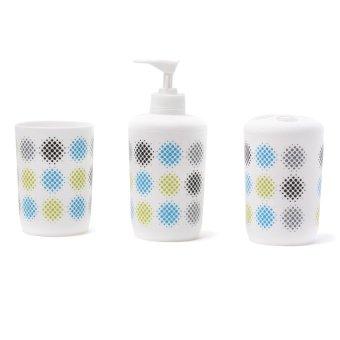 Aspire Aqua Serene Bath Gift 4-piece Set (White) - picture 2