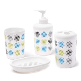 Aspire Aqua Serene Bath Gift 4-piece Set (White)