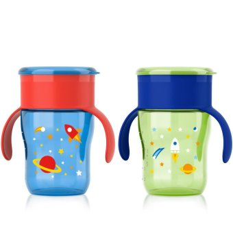 Avent My Natural Drinking Rocket Cup 9oz, Set of 2