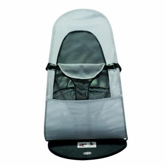 Baby Balance Bouncer Chair Lightweight baby Lounger Bassinet travelBed (Gray) - 2