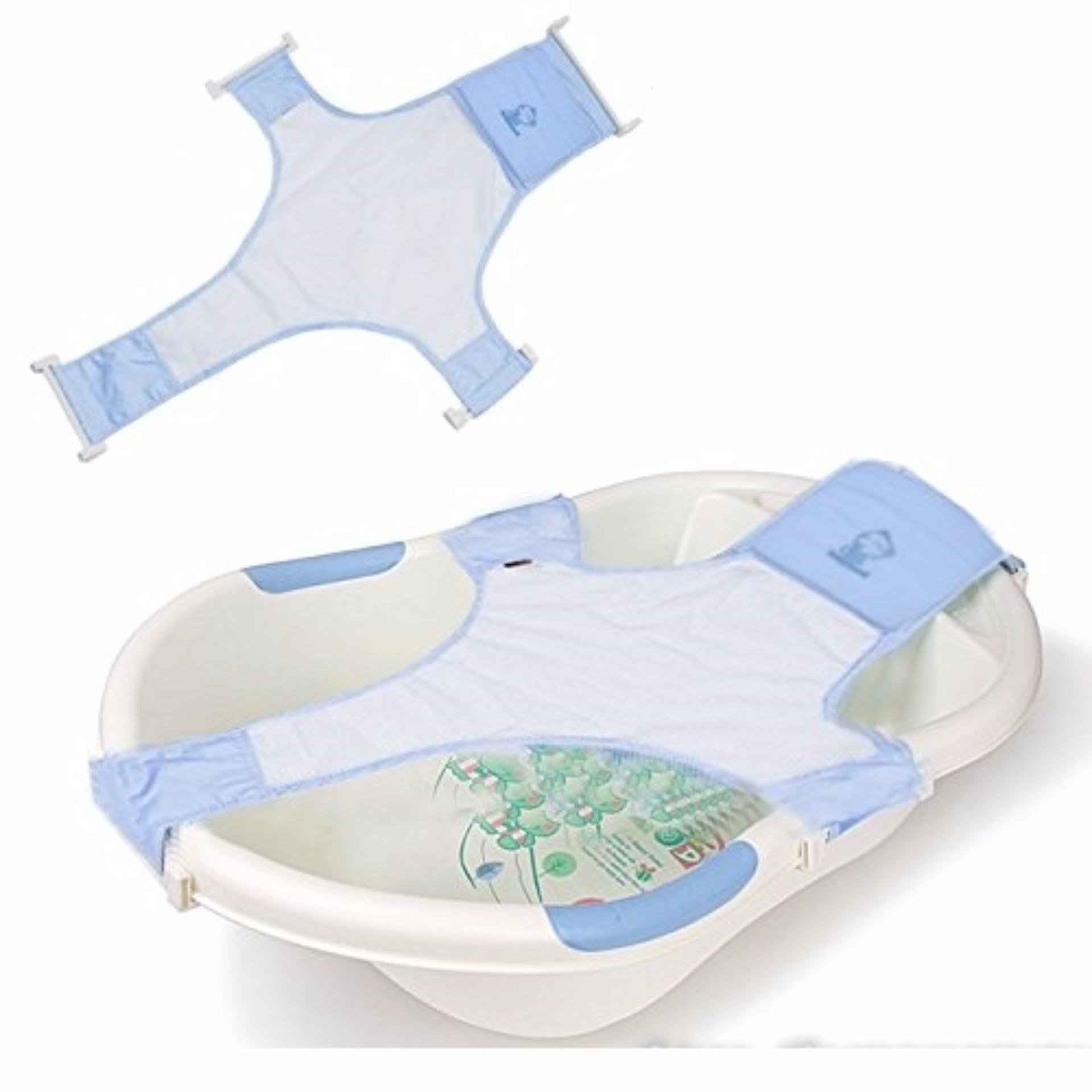 Philippines | Baby Bath Net - Adjustable Bathtub Support (Blue) The ...