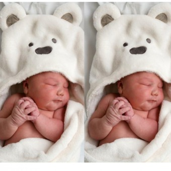 Baby Blanket Fluffy Bear's Swaddle Clothes For Baby - intl
