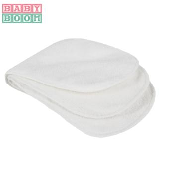 BABY BOOM TERRY CLOTH Diaper Inserts Set of 3 (White) - 2