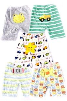 Baby Boy Shorts Set of 5 (Multicolor)