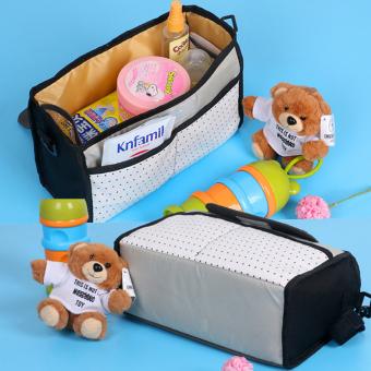 Baby car Portable hanging bag stroller Baby Bag(Black) - intl - 5