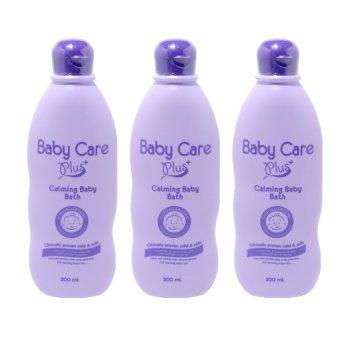 Baby Care Plus Calming Baby Bath Set of 3 200mL