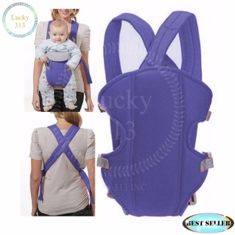 Baby Carrier Sling Wrap Rider Infant Comfort Backpack Dark Blue