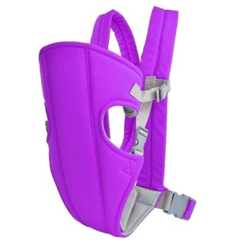 Baby Carrier sling wrap Rider Infant Comfort backpack (Purple)