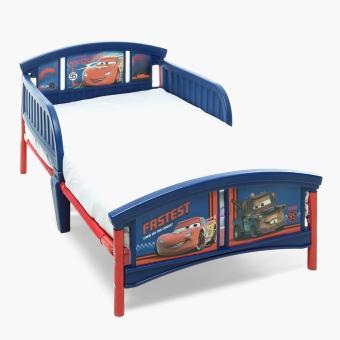 Baby Company Lightning McQueen Toddler Bed (Red/Blue)