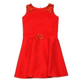 Baby Fashionista Blue Gems Dress (Red)