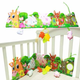 Baby Funny Mobile Cloth Book Educational Animal Crib Bed AroundToys(Lion) - intl - 4