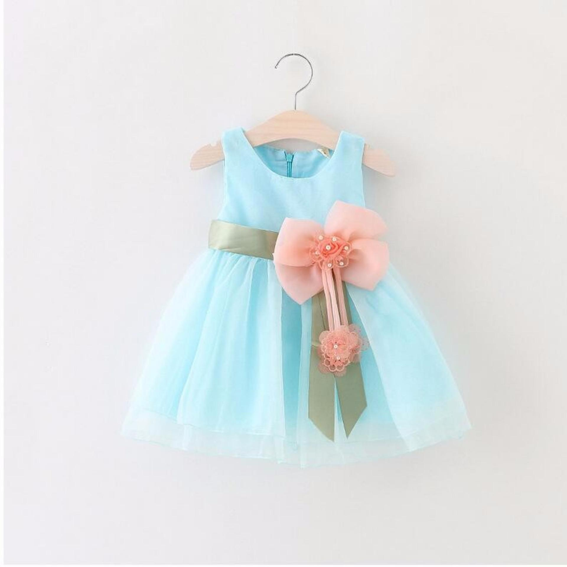 Philippines   Baby Girls Dress Big Bowknot Infant Party Dress For ...