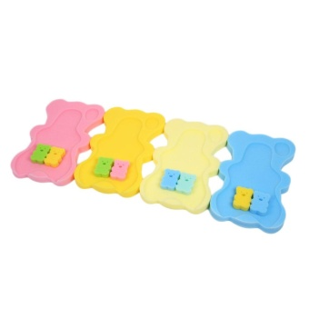 Baby Infant Soft Bath Sponge Foam Anti-Slip Mat Support Safety Comfort - intl