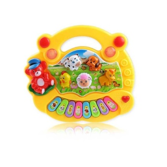 Baby Kids Musical Educational Piano Animal Farm Developmental Music Toys for Children Gift - intl - 2